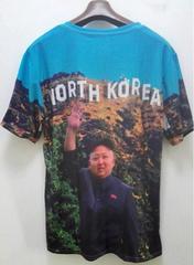 激レア 宇宙一美男子 北朝鮮金正恩大元帥 最高級Tシャツ