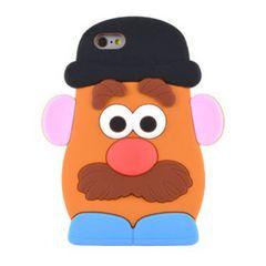 Mr ポテトヘッド iphone 5 5s SE  シリコン ケース カバー