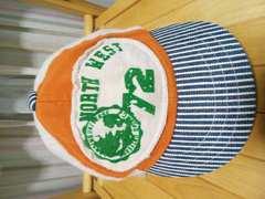 即決★80%off★ランピングユニバース★ロゴ帽子キャップ★50cm