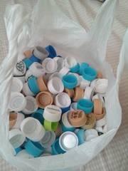 ペットボトルのキャップ 約600個
