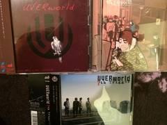 激安!超レア!☆UVERworld/マキシシングル3枚セット☆3CD+3DVD