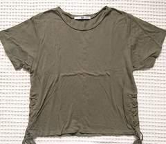 ★SLYカーキサイド編み上げTシャツ★2