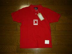 新品NHC東京ナチュラルハイキングクラブポロシャツS赤鹿の子
