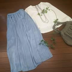 〇apart by lowrys〇春カラーのプリーツスカート*・゜美品