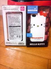 新品 キティiphone4s用ソフトタイプ 送料込み
