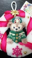 早完売  ディズニーシーTDS クリスマス 2015 オーナメント リース ツリー飾り  シェリーメイ