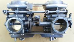 GS400 押しキャブ不具合無良品GT380CBX400Z400FXエンジン引きキャブ�B