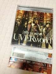 UVERWorld★初回限定DVD付★浮世CROSSING