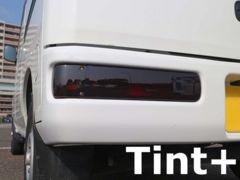 Tint+何度も貼れる アクティ バン HH5/HH6 テールランプ スモークフィルム