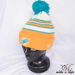 NEWERA ニューエラ ドルフィンズ ニットキャップ753ニット帽 NFL