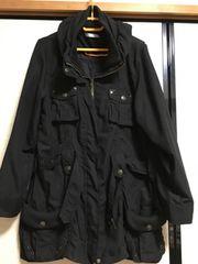 大きいサイズ新品3Lブラックミリタリージャケット