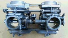 GS400 押しキャブ不具合無良品GT380CBX400Z400FXエンジン引きキャブ�A