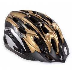 激安商品♪自転車用サイクリングヘルメット ゴールド