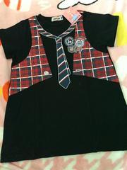 #新品#L-KOPEKだまし絵可愛い半袖Tシャツ140エルコペック