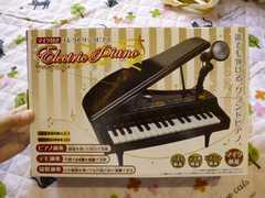 新品 マイク付 エレクトリックピアノ ブラック