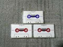 録音使用済カセットテープ ソニー X�U54 ハイポジ X�T60 ノーマル ピュアスタイル