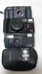 カメラ.フィルム式 OLYMPUSなど3台 ジャンク品
