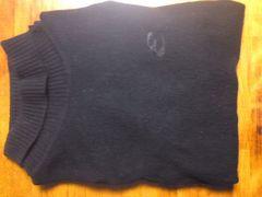 ★矢沢永吉のカシミヤのセーター黒です☆