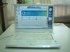 すぐ使える Vista ワイド マルチ 無線 FMV-NF40W 2G 綺麗