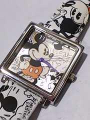 ミッキーマウス 腕時計 ドナルドダック ベルト