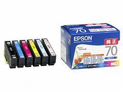 EPSON 純正インクカートリッジ IC6CL70 6色セット