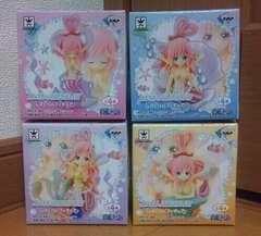 ワンピース I LOVE SHIRAHOSHI GIRLISHフィギュア 全4種セット しらほし姫