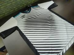 送料込(XO 白黒WBK)アンブロ umbro★UBS7626 半袖プラシャツ セカンダリーシャツ