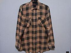 即決USA古着●鮮やかチェックデザインネルシャツ!ヴィンテージ・アメカジ