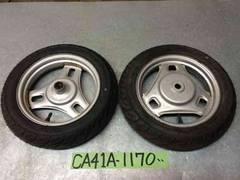 ☆ CA41A  パレット Pallet Lat's4 FR タイヤ ホイール バリ山