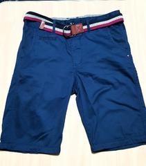 ブルーの半パンツ★ベルト付き★85cm (Lサイズ)