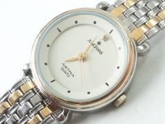 8643/JUNGHANS素敵な1ポイントダイヤ付き★レディース腕時計格安出品