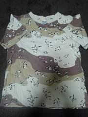 メンズ S カモフラTシャツ 中古