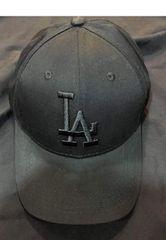入荷新品ロサンゼルスドジャース★LAアジャスターキャップ帽子オールブラック