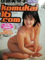 昔はアイドルだったのに!「小向美奈子パーフェクトムック」