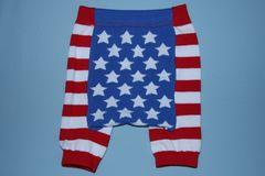 USフラッグ柄ベビー用ショートスパッツ/レギンス80-100星条旗USA