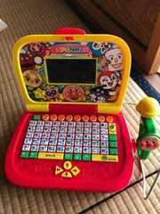 アンパンマン パソコン 知育玩具 オモチャ キッズ ベビー