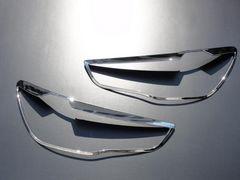 クロームメッキヘッドライトリング RVR GA3W/GA4W