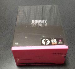 新品未開封 BOOWY GIGS BOX 限定販売品 DVD-BOX 氷室京介