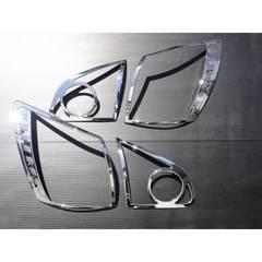 日産 クロームメッキテールライトリング  デュアリス J10