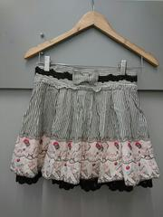 Ank Rouge☆ストライプ×アイス柄スカート
