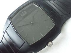 8033/DIESELディーゼル◆DZ-1384大人気のフルブラックメンズ腕時計