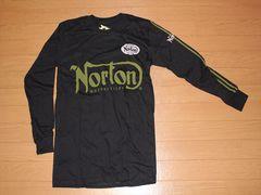 ノートン(NORTON)バイカー系ロングTシャツ Lサイズ 超特価 新品�@