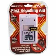 RIDDEX 電磁波害虫駆除 ねずみ ネズミ捕り鼠 ゴキブリ ダニ ノミ 虫よけ