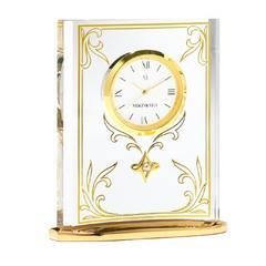 新品ミキモト MIKIMOTO パール付き置き時計プレゼントにも