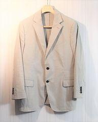 size54☆美品☆エトロ シアサッカー製サマージャケット