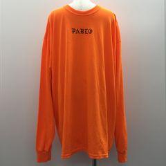 【GENKINGオク】PABLO パブロ ロンT オレンジ 2XL