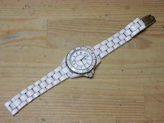 シャネル J12 ノベルティーメンズ腕時計