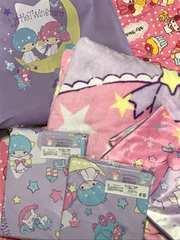 キキララ☆掛け敷きカバー、毛布など5点セット福袋♪