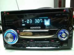 ケンウッド DPX-U77 CDチューナー フロントUSB/AUX WAV再生