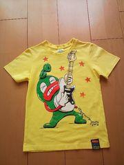中古ぐるりTシャツ黄partyparty